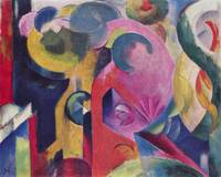 Composition III by Franz Marc