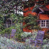 THE BLUE GARDEN CHAIRS