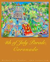 4th of July Parade Poster