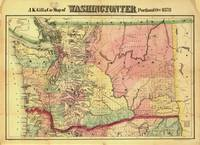 Map of Washington State (1878)