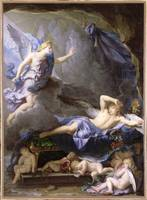 Morpheus awakening as Iris draws near by Houasse (