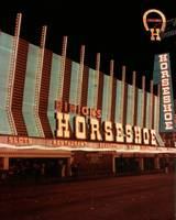 The Horseshoe Hotel and Casino at Night
