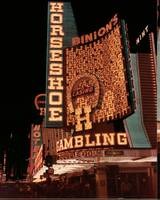 The Horseshoe Hotel and Casino Sign