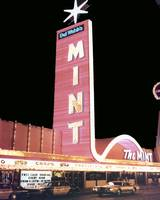 The Mint Hotel and Casino at Night