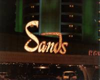Sands Hotel and Casino Front Sign