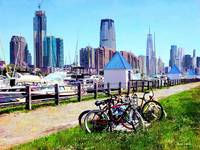 Liberty State Park - Parked Bicycles