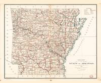 State of Arkansas Map (1886)
