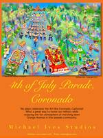 Poster, 4th of July Parade, Coronado
