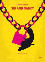 No1065 My Sid and Nancy minimal movie poster