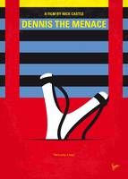 No1073 My Dennis the Menace minimal movie poster
