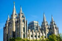 Salt Lake Temple Grounds Study 18