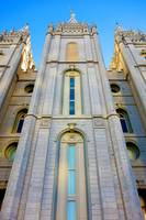 Salt Lake Temple Grounds Study 20
