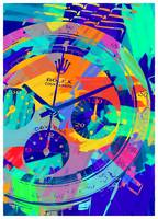 Abstract Rolex Paint 18