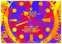 Abstract Rolex Paint 11