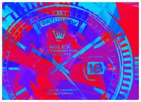 Abstract Rolex Paint 10