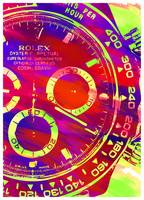 Abstract Rolex Paint 7