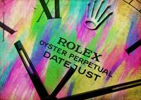 Abstract Rolex Paint 5