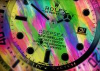 Abstract Rolex Paint 4