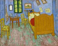 The Bedroom (1889) by Vincent Van Gogh