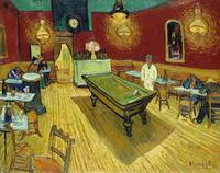 Le café de nuit (The Night Café) (1888) by Vincent