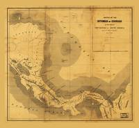 Isthmus of Chiriqui Map (1860)