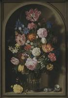 Ambrosius Bosschaert the Elder~Bouquet of Flowers
