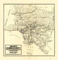 Map of Los Angeles County (1912)
