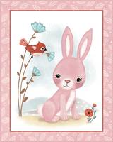 Little Woodland Friends - Little Pink Bunny