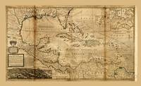 West Indies Map (circa 1715)