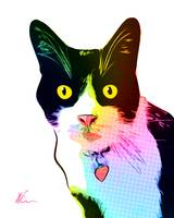 Monty the Cat | Pop Art