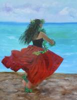Hula Dance on the Beach