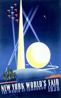 1939 New York World's Fair Vintage Poster