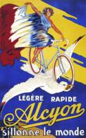 Alcyon Vintage Bicycle Poster