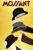 Mossant Hats by Cappiello Vintage Poster