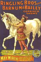 Ringling Bros. and Barnum & Bailey Vintage Poster