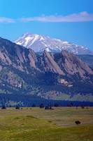 Flatirons Pointing to Longs Peak