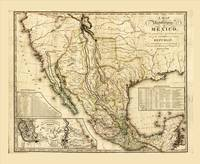 Map of the United States of Mexico (1826)