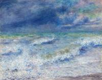 Seascape (1897) by Pierre-Auguste Renoir
