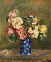 Bouquet of Roses (1882) by Pierre-Auguste Renoir