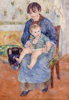 Young Mother (1881) by Pierre-Auguste Renoir