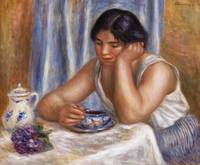 Cup of Chocolate (1912) by Pierre-Auguste Renoir