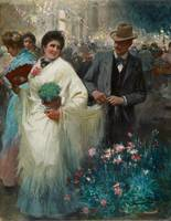 Cecilio Pla y Gallardo The Verbena c. 1905
