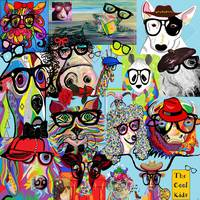 Hip Animals with Glasses . . . The Cool Kids