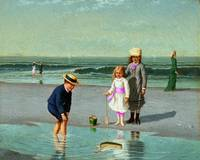 Children on the Beach Samuel S. Carr