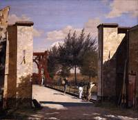Christen Købke - The North Gate of the Citadel