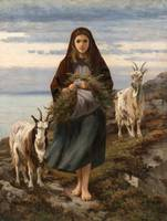 Connemara Girl by Augustus Nicholas Burke.
