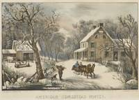 Currier & Ives (Publishers) AMERICAN HOMESTEAD WIN
