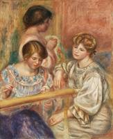 Embroiderers (1902) by Pierre-Auguste Renoir