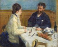 Luncheon (1875) by Pierre-Auguste Renoir