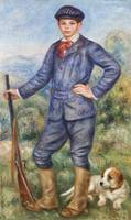 Jean as a Huntsman (1910) by Pierre-Auguste Renoir